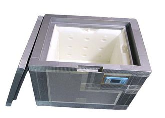 PU - VIP Vacuum Insulation Panels Thermo Cooler Box 21L For Cold Chain Transport
