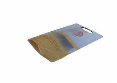 Mylar Printed Stand Up Ziplock Bags Resealable Food Packaging For Dried Fruit